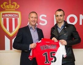 Berbatov chính thức gia nhập Monaco