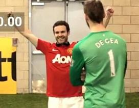 Juan Mata trổ tài đá phạt góc siêu hạng