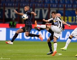 Hòa Udinese, Inter lỡ cơ hội bám đuổi top 4