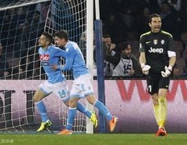 Gục ngã trước Napoli, Juventus dừng chuỗi trận bất bại