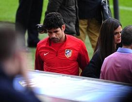 Diego Costa bất ngờ chấn thương trước trận gặp Barcelona