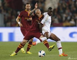 AS Roma chấm dứt mạch chiến thắng liên tiếp của AC Milan