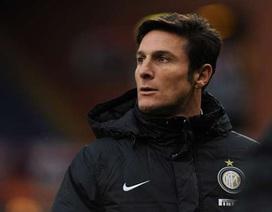 Javier Zanetti chính thức giải nghệ vào cuối mùa