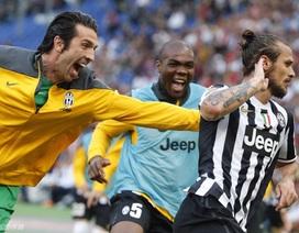 Hạ gục Roma nghẹt thở, Juve phá kỷ lục ở Serie A