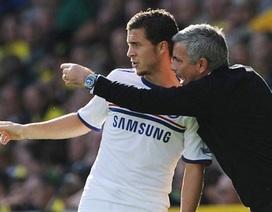 Mourinho bất đồng với Eden Hazard