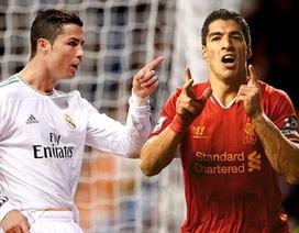 Cuộc đua Chiếc giày vàng châu Âu: Nảy lửa giữa CR7 và Suarez