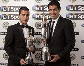 Suarez lập cú đúp danh hiệu cá nhân ở Premier League