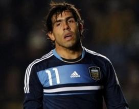 Tevez bị loại khỏi danh sách đội tuyển Argentina dự World Cup 2014