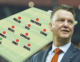 Rooney không có trong kế hoạch của Van Gaal
