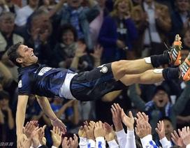 Inter đại thắng trong ngày chia tay đội trưởng Zanetti