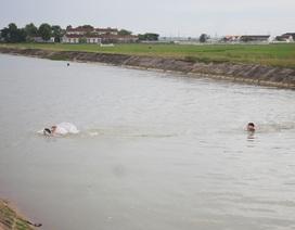 Học viên an ninh tử vong khi tập bơi trên sông