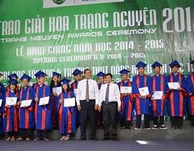 150 học sinh, sinh viên xuất sắc nhận giải Hoa Trạng Nguyên khu vực phía Nam
