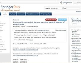 Công bố kết luận vụ một bài báo bị rút khỏi tạp chí SpringerPlus
