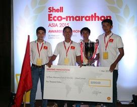 ĐH Lạc Hồng vô địch cuộc thi chế tạo xe tiết kiệm nhiên liệu châu Á
