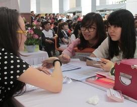 TPHCM: 300 sinh viên tìm được việc ngay ngày hội việc làm