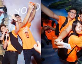 Ngày hội Yolo selfie hết mình cùng sao Việt