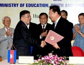 VN - Campuchia ký kế hoạch hợp tác giáo dục đào tạo