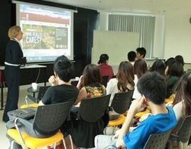 British University Vietnam trợ giúp hiệu quả tiếng Anh cho sinh viên mới