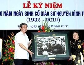 Kỷ niệm 80 năm ngày sinh Giáo sư Nguyễn Đình Tứ