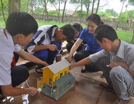 """Độc đáo ngôi nhà """"chống lũ, chống bão"""" của học sinh Quảng Trị"""