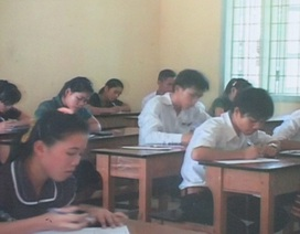 Lộ đề thi Hóa lớp 12, Quảng Trị tổ chức thi lại trên toàn tỉnh
