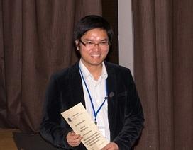Nghiên cứu sinh Việt Nam được trao giải Luận án tiến sĩ xuất sắc nhất