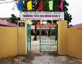 Trường, UBND phường trần tình việc phụ huynh đóng tiền để trả nợ