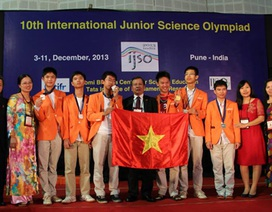 Học sinh Việt Nam giành huy chương Vàng tại Olympic quốc tế