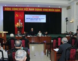 Hội nghị Hội Cựu giáo chức dành phút mặc niệm cố Đại tướng Võ Nguyên Giáp