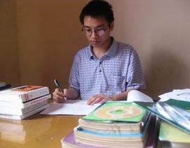 Cậu học trò chuyên Lý say mê sáng tạo phần mềm Tin học