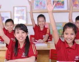 Trường phổ thông liên cấp Vinschool công bố tuyển sinh từ lớp 1 đến lớp 10