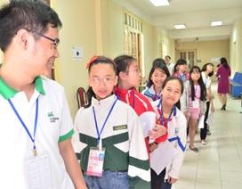 Nhiều thí sinh tự tin với phần thi Nghe và Nói vòng chung khảo