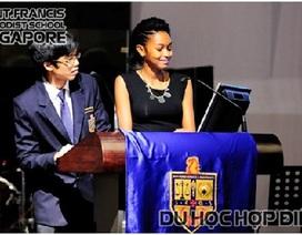 18 & 19/04: Hợp Điểm báo cáo HỌC BỔNG 70% HỌC PHÍ của Trung học Saint Francis, Singapore