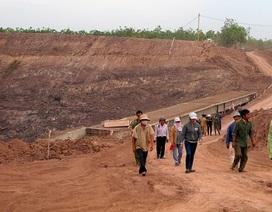 Hàng chục người dân cản trở thi công công trình thủy điện