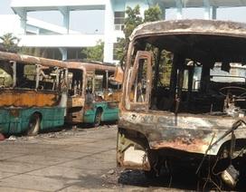 Vụ 10 xe buýt cháy bí ẩn trong đêm: Có người cố ý đốt xe