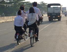 """Những """"thói quen"""" giao thông... không giống ai!"""