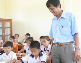 Thầy giáo hiến 1.200 m2 đất xây trường học