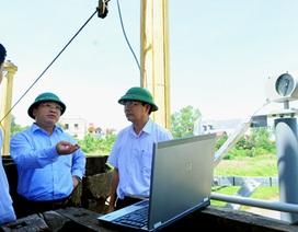 Thử nghiệm hệ thống thông tin giám sát hồ chứa đầu tiên ở Việt Nam