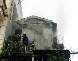 Hà Nội: Hỏa hoạn tại ngôi nhà 3 tầng trên phố Phúc Tân