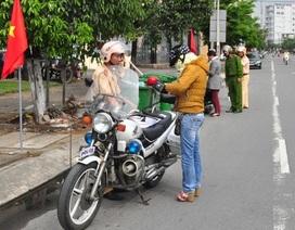 Phạt hơn 1.000 trường hợp phương tiện lưu thông không đúng làn đường