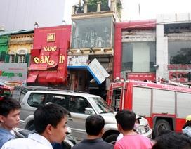 Hà Nội: Nổ mìn tại tiệm vàng trên phố Nguyễn Thái Học
