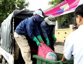 Bắt xe tải chở gần nửa tấn nội tạng động vật thối
