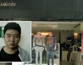Hà Nội: Liều lĩnh cầm dao xông vào cửa hàng cướp tài sản
