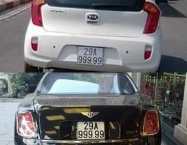 """Phát hiện chứng cứ """"tố"""" siêu xe Bentley """"mượn"""" biển 29A-999.99"""
