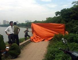 Hà Nội: Hoảng hồn phát hiện xác chết mắc vào lưới ở hồ