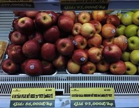 Táo Gala của Mỹ vẫn tràn ngập trên kệ các siêu thị Hà Nội