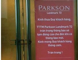 """Những trung tâm thương mại, siêu thị điện máy """"yểu mệnh"""" ở Hà Nội"""