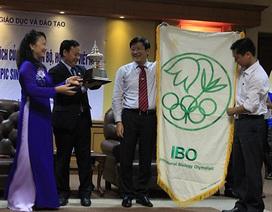 Việt Nam chính thức nhận cờ đăng cai Olympic Sinh học