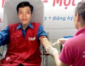 Chàng sinh viên 18 lần hiến máu cứu người