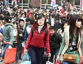 1.000 sinh viên được hỗ trợ về quê ăn Tết
